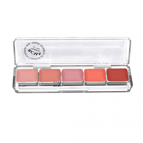 RCMA Cream Blush 5 Part Palette