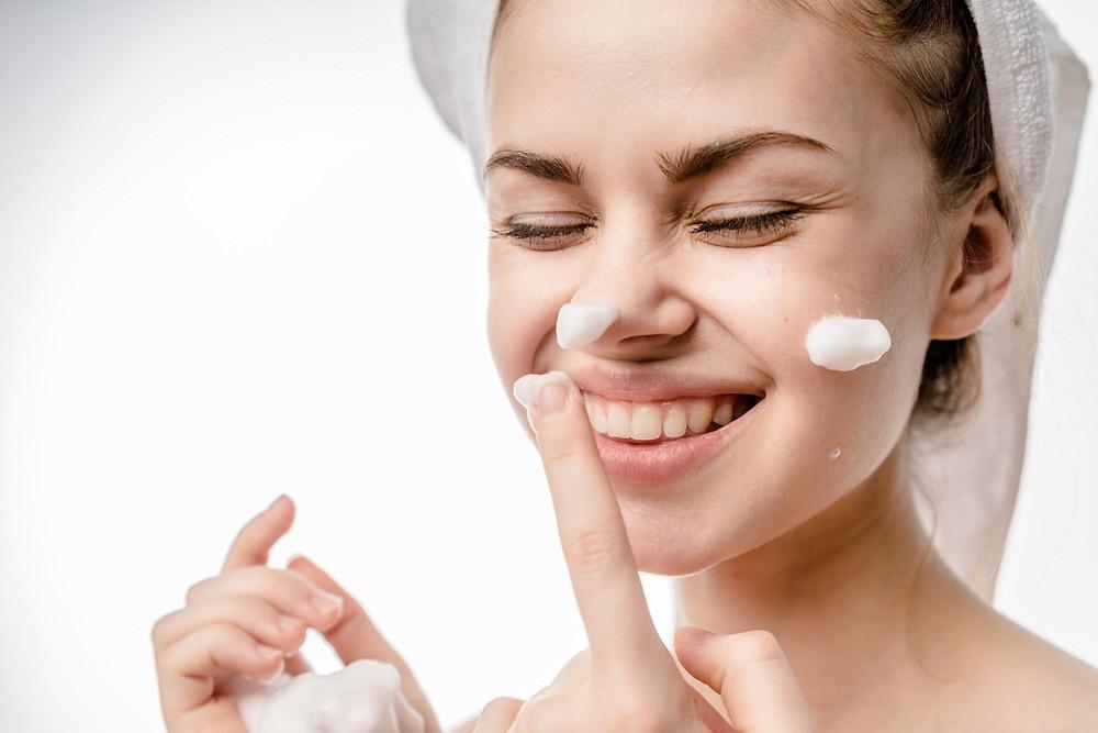 Cleansing Face Skincare Eyeshadow Makeup Blog