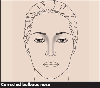 The Bulbous Nose Contouring Makeup Blog