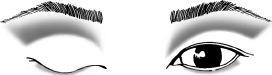 Asian Slight Fold #1 Eyeshadow Application Makeup Blog
