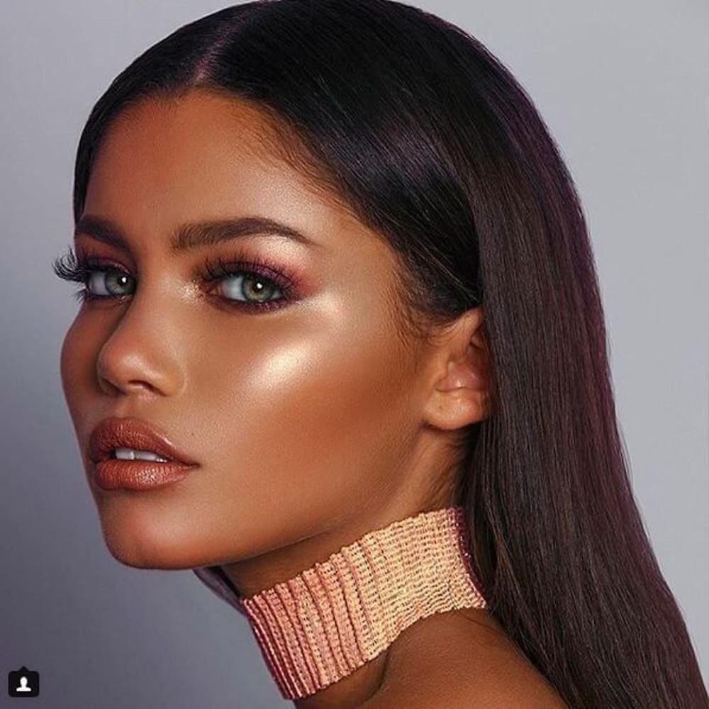 makeup strobing highlighter highlighting illuminator illuminating shimmer