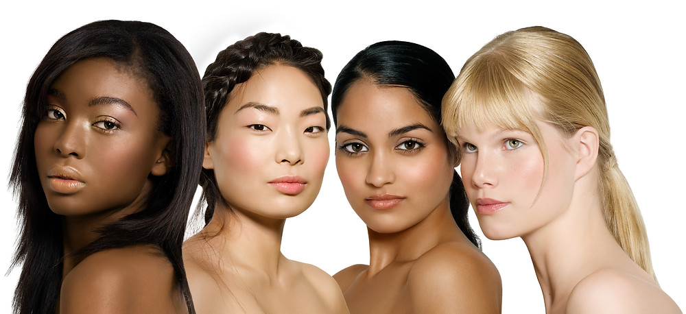Models with Different Diverse Skintones Undertones Makeup Blog