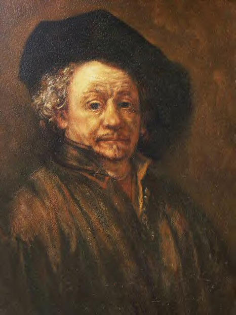 Tony Goodwin - Rembrandt Self Portrait