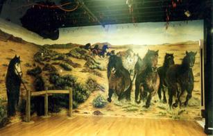 Dance Floor Mural