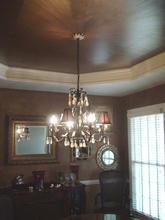 Metallic Faux ceiling