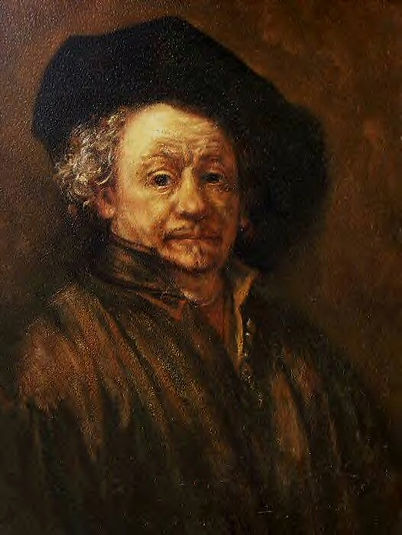 Tony Goodwin - Rembrandt Self Portrait -