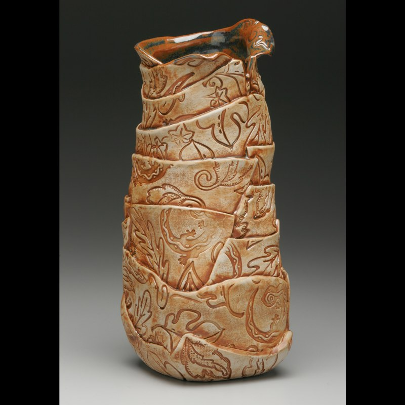 Red-tipped Vase