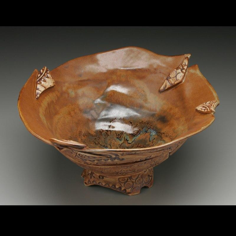 Pumpkin Flower bowl
