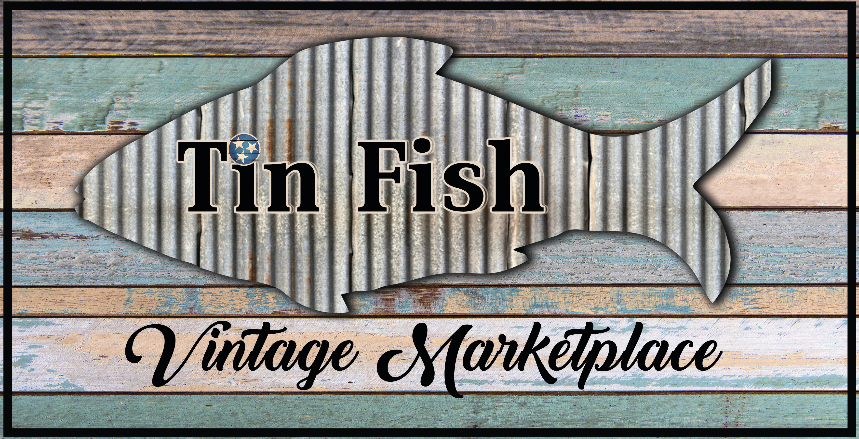 Tin Fish Marketplace Logo