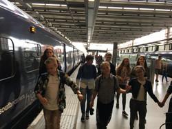 путешествие в Лондон на поезде
