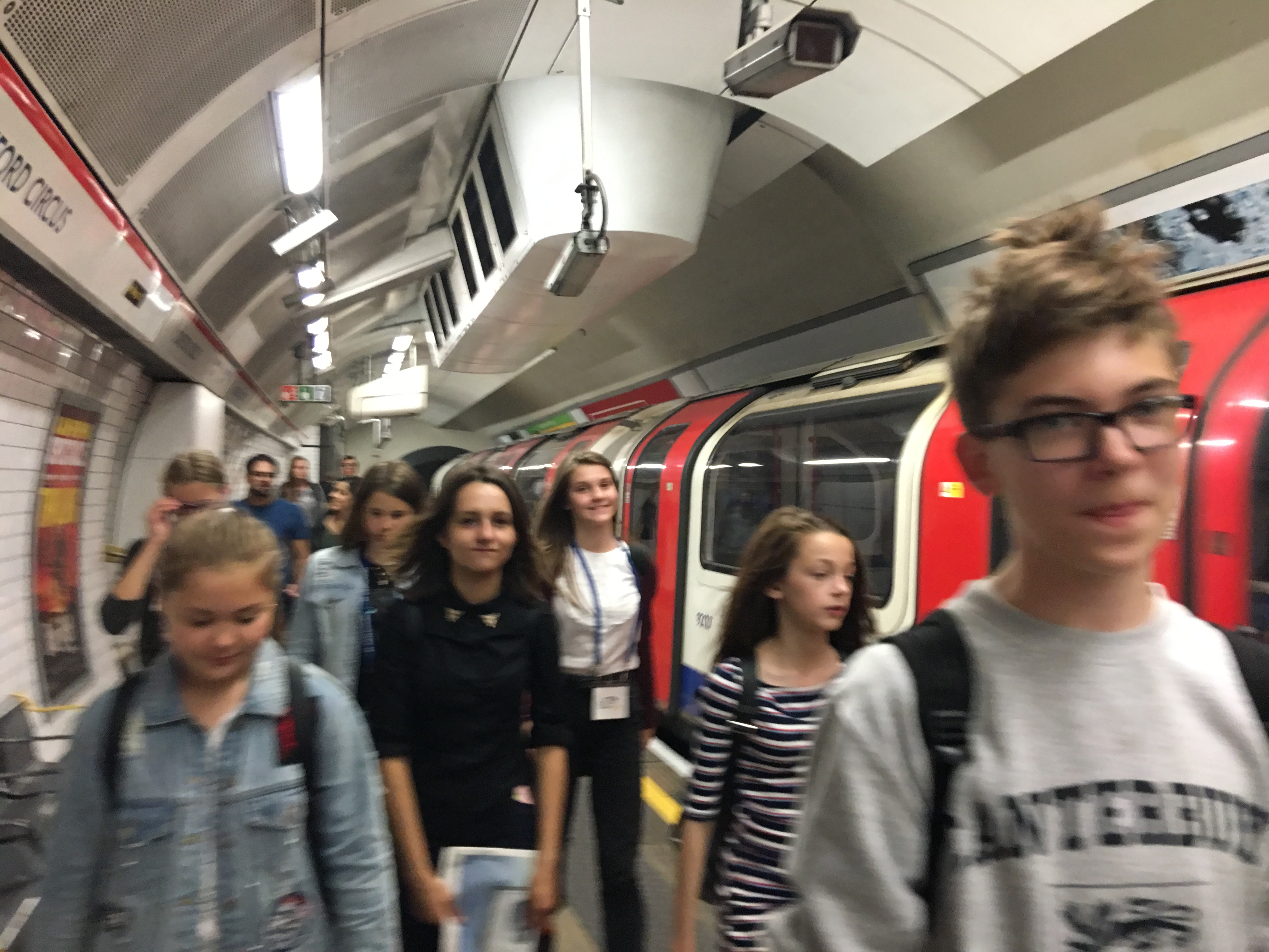 знакомство с метро в Лондоне
