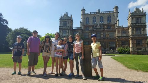Wollarton Hall в Ноттингеме