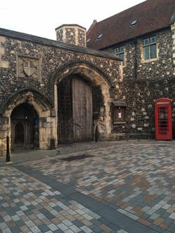ворота в школе