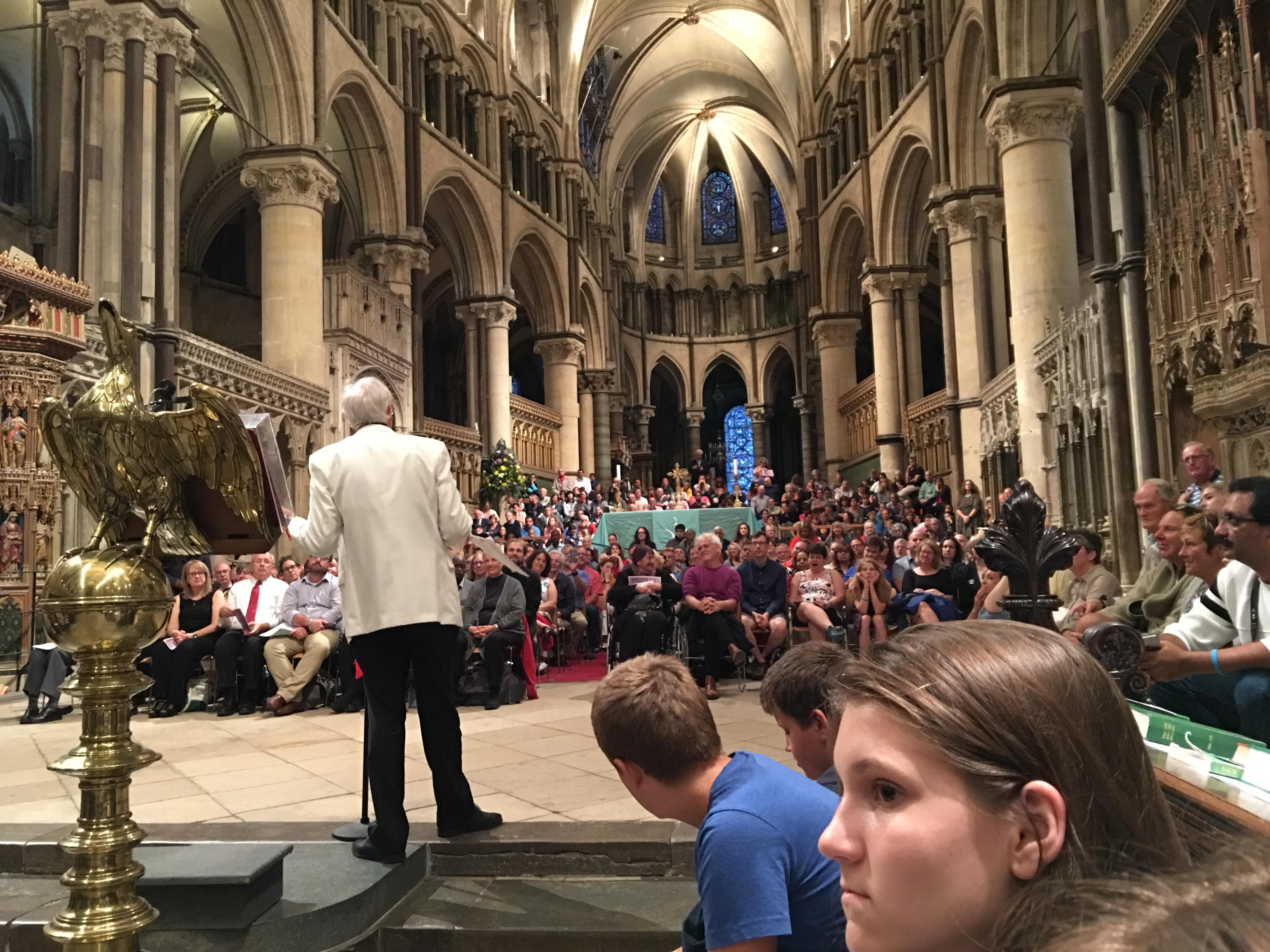 Концерт в соборе
