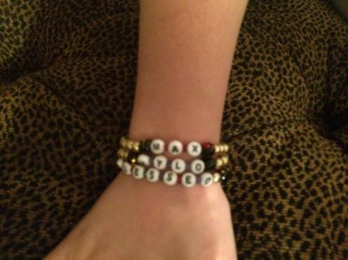 Custom Blessed Mom Or Grandma Bracelets