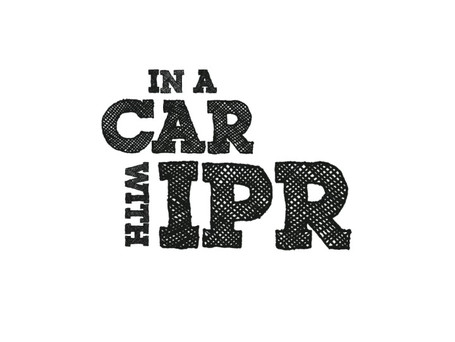 In A Car with IPR Logo Animation
