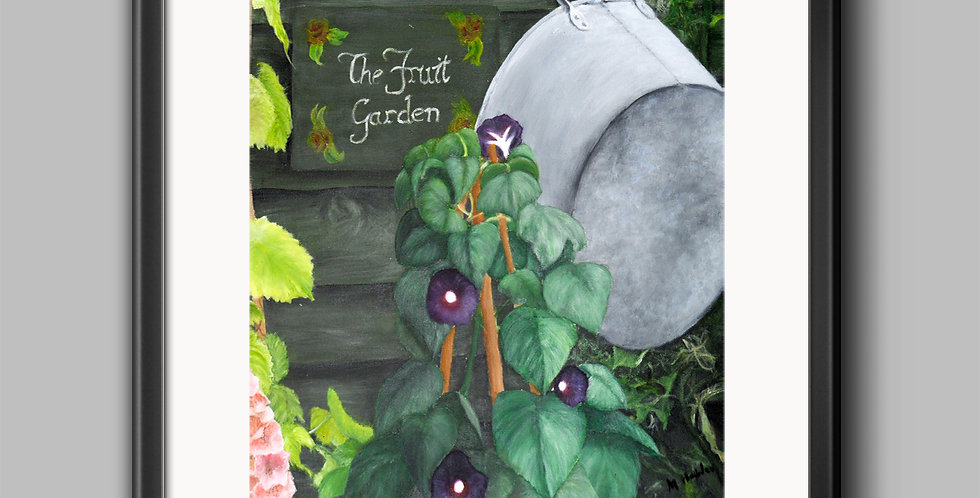 Fruit Garden Special Places Framed Prints