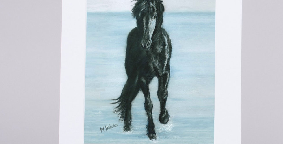 Mounted Fine Art Prints, The Herd From The Animal Instincts Collection