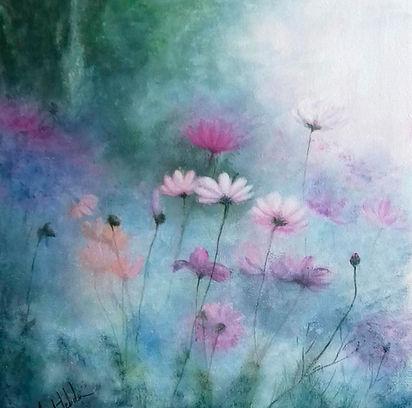 Misty Flowers
