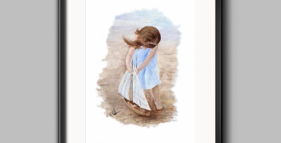 Little Angels Framed Prints