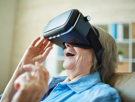 Thrive VR: Connecting Loved Ones, Despite Covid-19