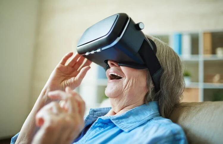 Thrive Virtual Reality Improves Lonliness and Memory