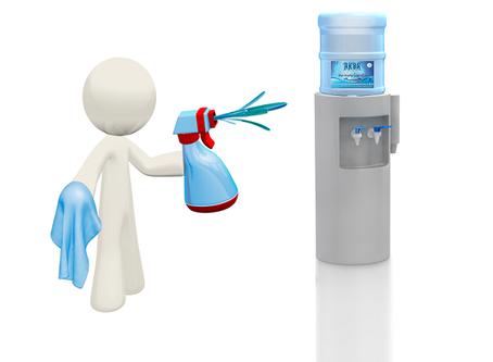 Дезинфекция и санитарная обработка помещений