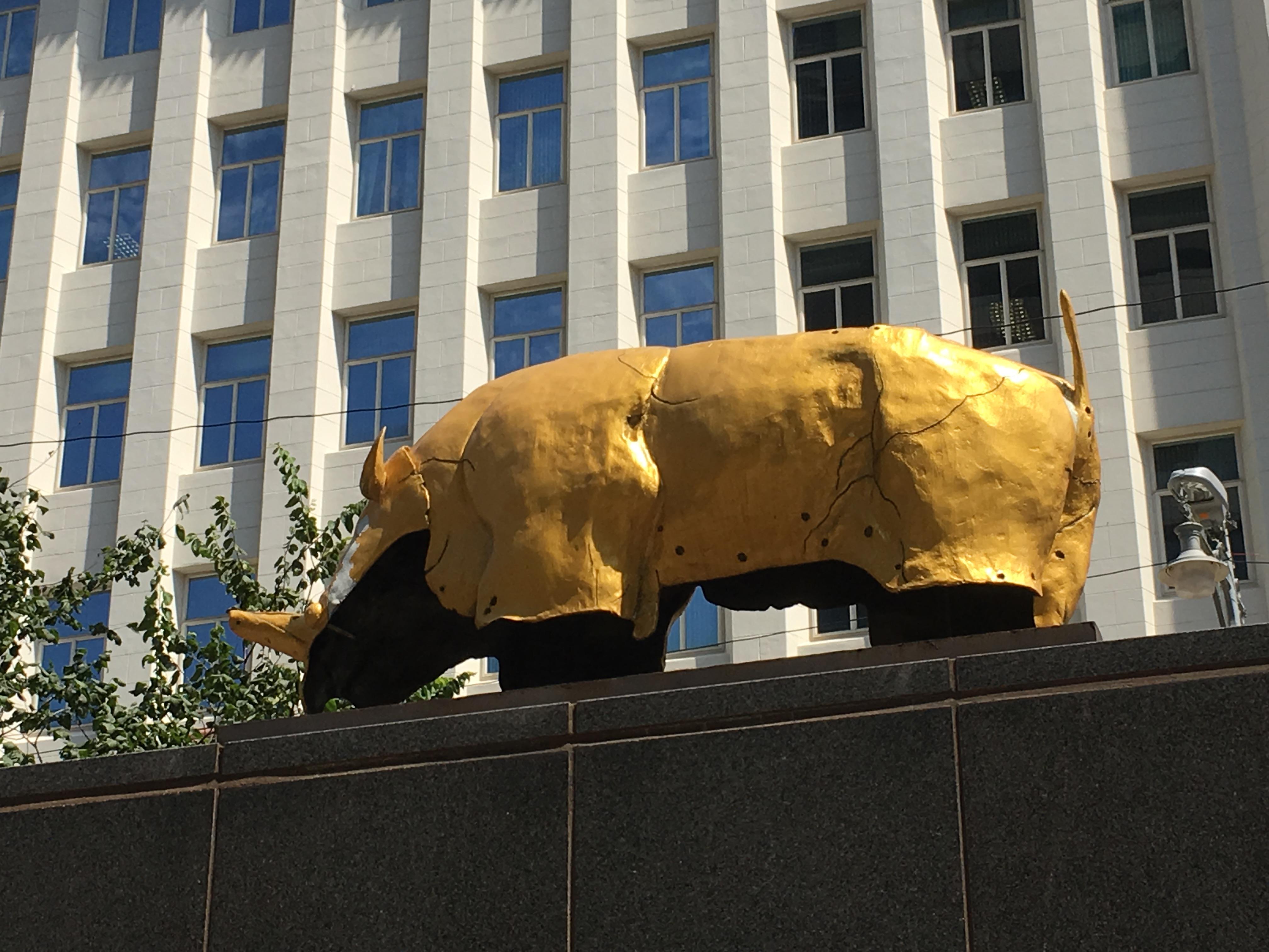 Golden Rhino Mapungubwe