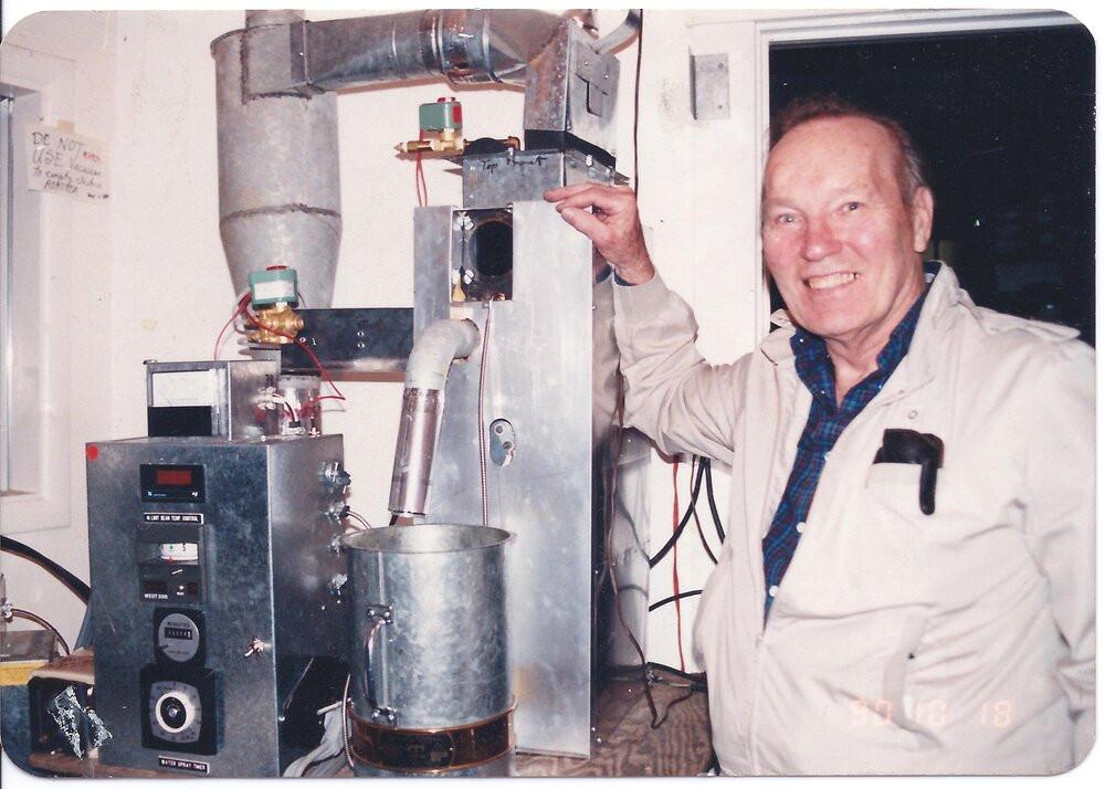 Air-Roasting Coffee Machine