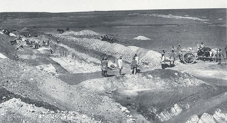Ferreira's Gold Mine in 1886 Johannesburg