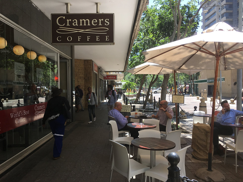 Cramers coffee, Gandhi Square Precinct