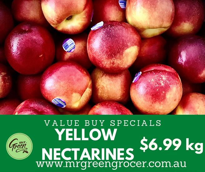 VALUE BUY Riverland Yellow Nectarines kg
