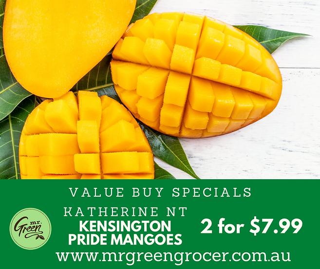 VALUE BUY Mangoes KENSINGTON PRIDE 2 for $7.99