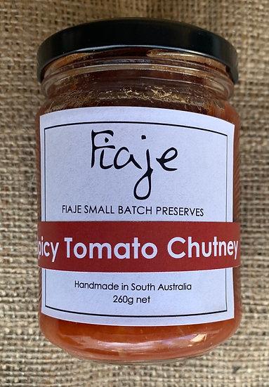 Fiaje Spicy Tomato chutney 260g