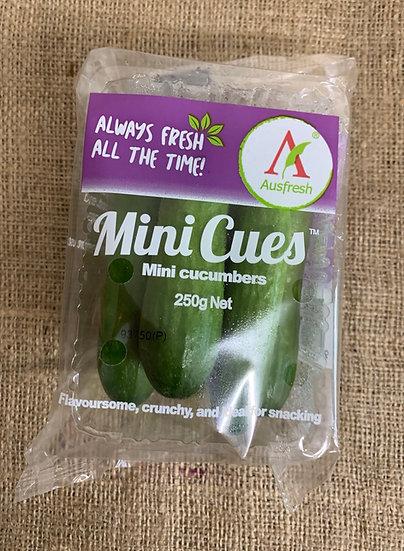 Cucumbers mini 250g