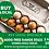 Thumbnail: BUY LOCAL SPECIAL 2 x Happy Clucker Eggs 600 g Dozens
