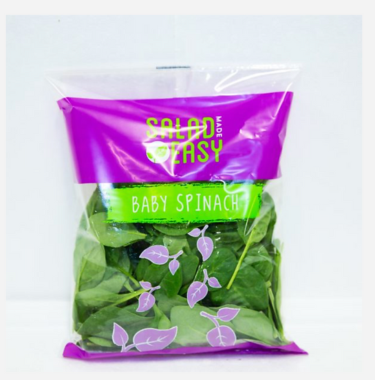 RF Baby Spinach 100G packet