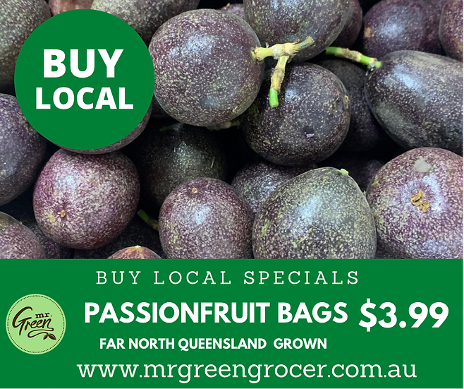 LOCAL BUY SPECIAL Passionfruit Bags