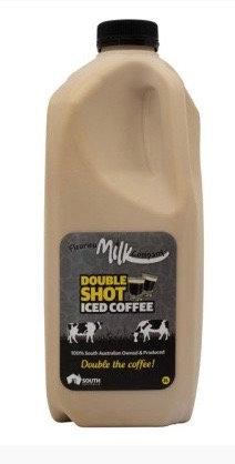 Fleurieu Milk Co. 2 ltr Double shot iced coffee