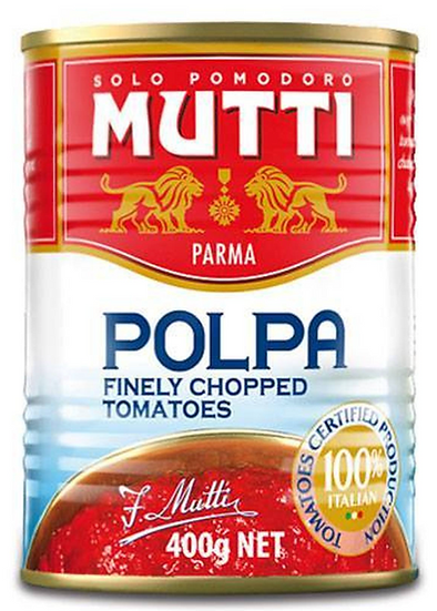 Mutti Polpa - Finely Chopped tomatoes 400G (4 Pack)