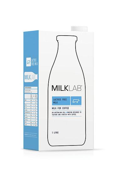 Milk Lab Lactose Free Milk 12 x 1 Ltr Carton