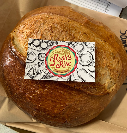 RR DELIVERED WEDNESDAY Country Sourdough Cob