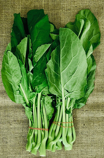Asian greens (Chinese broccoli)
