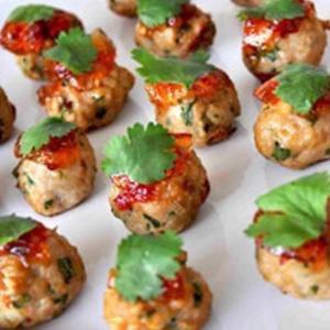 MK Thai Chicken Meatballs (15 balls)  Mitcham Kitchen (Frozen)