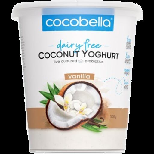 CocoBella vanilla dairy free yogurt 500g