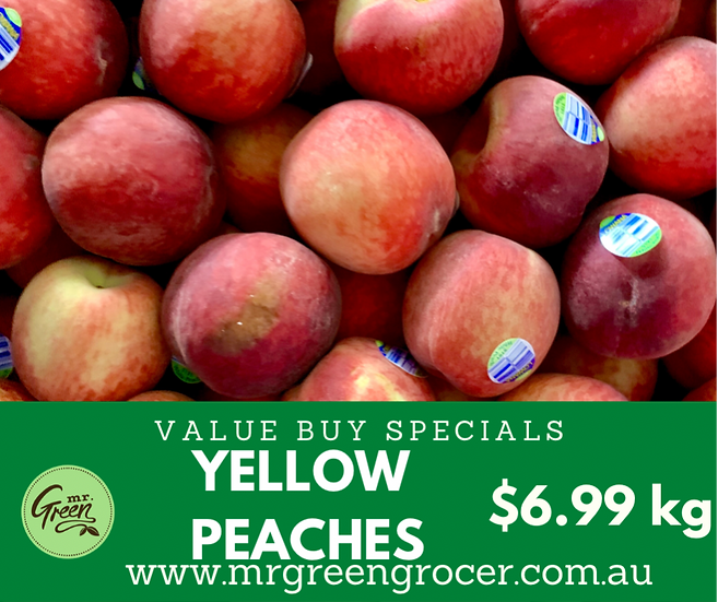 VALUE BUY Riverland yellow Peaches kg