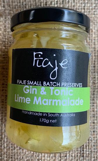 Fiaje Gin&Tonic Lime Marmalade 170g