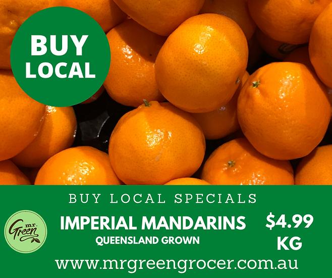BUY LOCAL SPECIAL Imperial Mandarin 1KG Premium *NEW SEASON*