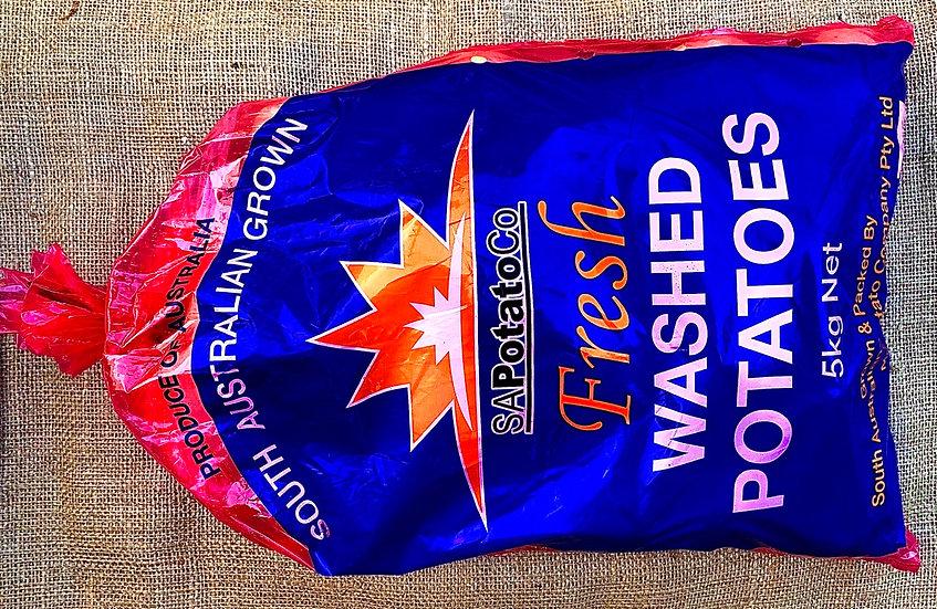 Potato White 5KG Bag