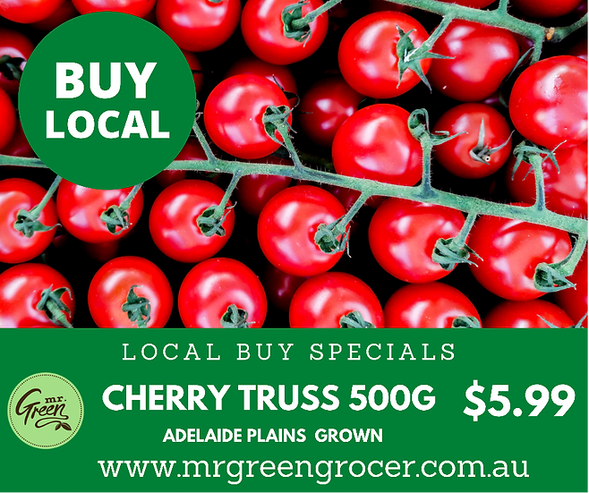 LOCAL BUY SPECIAL Cherry Truss Tomatoes 500 G